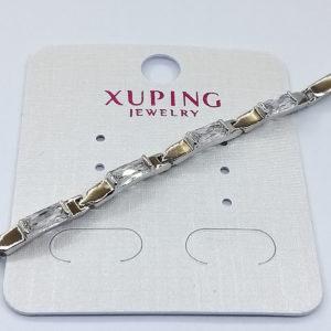 Ювелирное украшение браслет Xuping родий