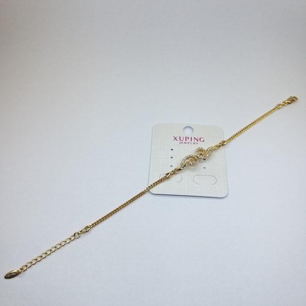 Ювелирная бижутерия браслет Xuping позолота 18К