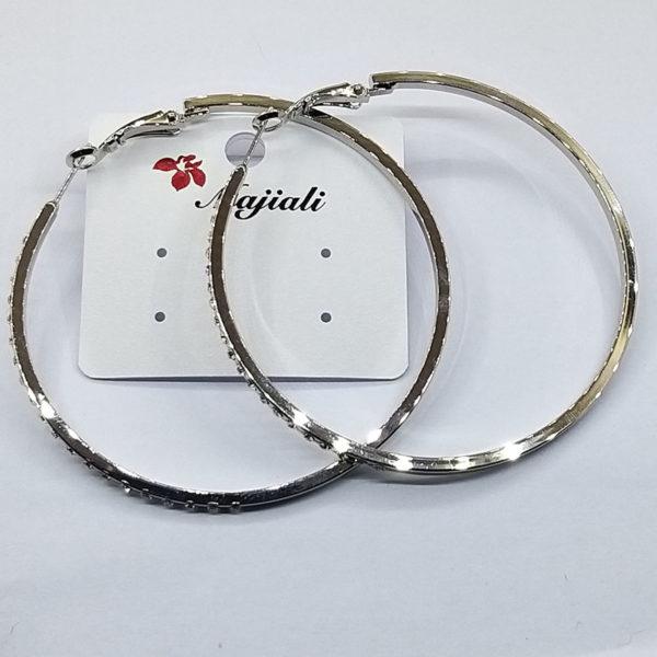 Ювелирная бижутерия серьги-кольца