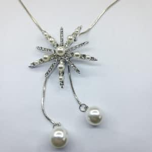 Ювелирное украшение цепочка с кулоном - подвеска