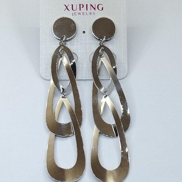 Ювелирная бижутерия серьги Xuping родий